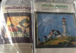 2 New Needlecraft Kits**PARAGON Lighthouse & TAPESTRATIONS C