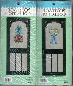 CHOICE: SEALED Leisure Arts Cottage Collection Counted Cross