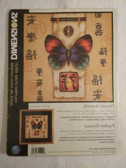 """Dimensions Counted Cross Stitch Kit ORIENTAL BUTTERFLY 10"""" x"""