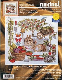 Janlynn Counted Cross Stitch Kit 18-110 Vegetable Garden Col