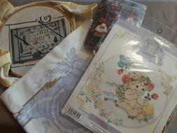 Entire Collection of Needlepoint/Cross stitch Materials, Kit