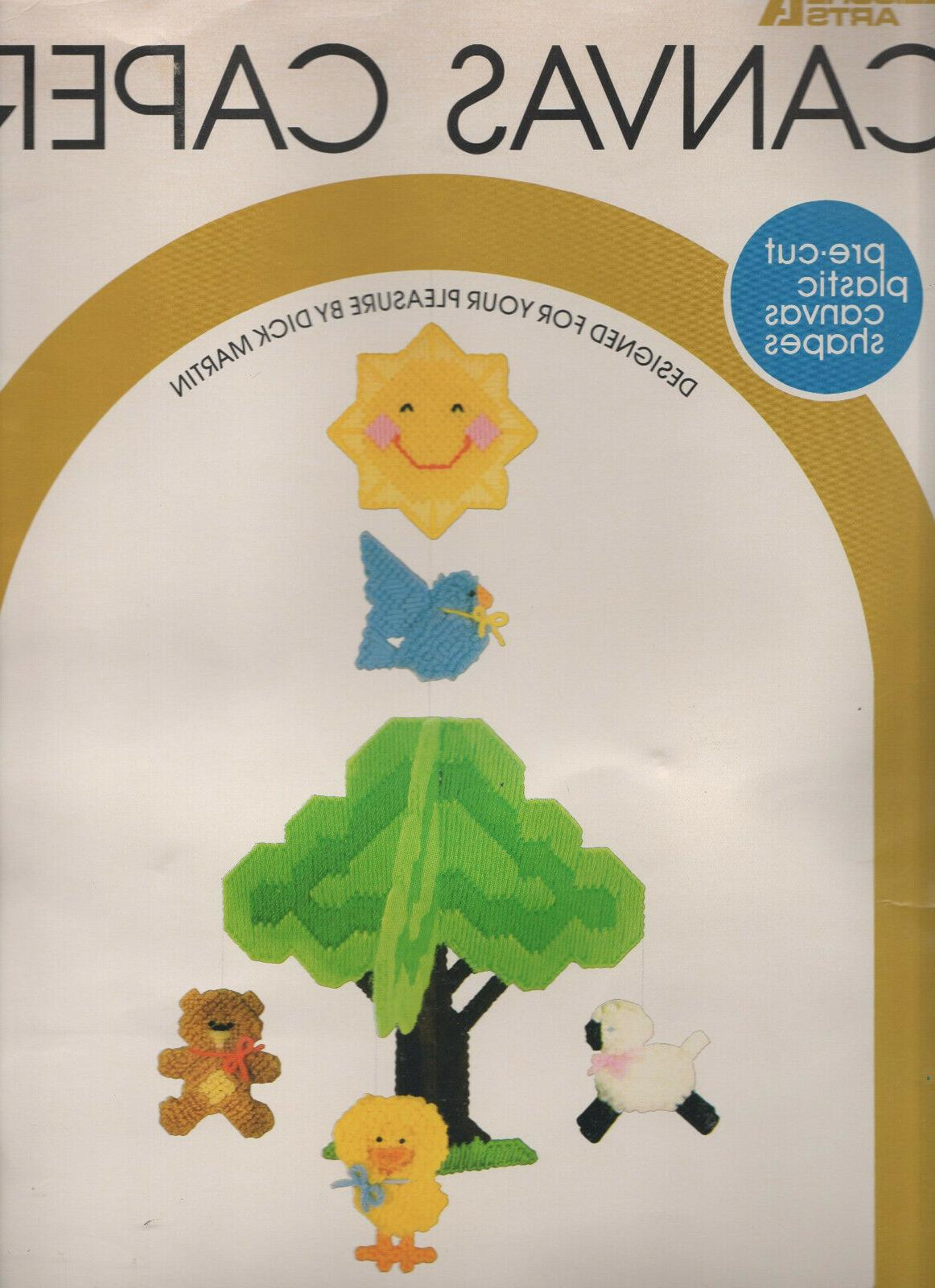 plastic canvas capers kit spring song mobile