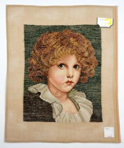 Lindhorst Tapisserie Needlepoint Wall Tapestry Portrait of a