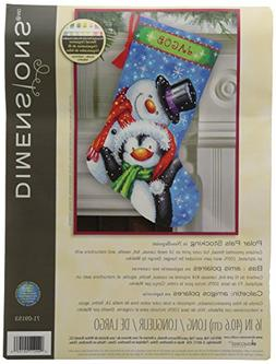 Polar Pals Stocking Needlepoint Kit-16 Long Stitched In Thre