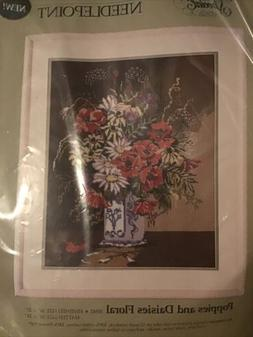 """Something Special """"Poppies & Daisies"""" 16"""" X 20"""" Needle"""