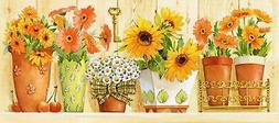 Grafitec Printed Tapestry/Needlepoint Canvas – Sunflowers
