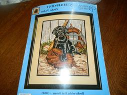 CANDAMAR DESIGNS Rookie of the Year Needlepoint kt Puppy dog