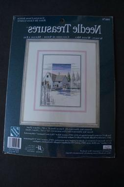 Needle Treasures Sunsets Water Mill Counted Cross Stitch Kit