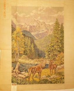 Tramme Tapestry/Needlepoint Kit – Stag & Mountains Wall Ha