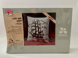 Vintage New Old Stock Lee Wards Crewel Ship Ahoy Pillow Kit